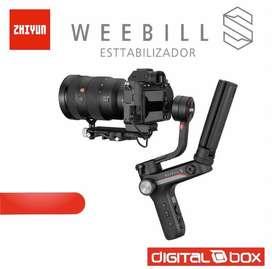 Estabilizador Zhiyun Weebill S para reflex, mirrorless. Distribuidor autorizado