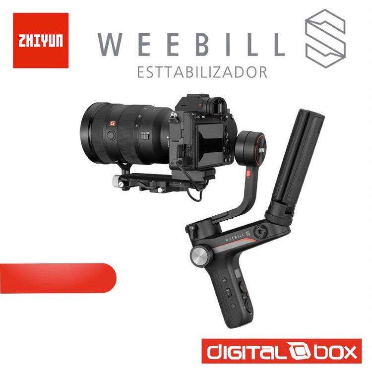 Estabilizador Zhiyun Weebill S para reflex, mirrorless. Distribuidor autorizado 0