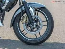 RIN TRASERO Y DELANTERO MOTO PULSAR NS 200