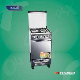 Cocina Premier 4 hornillas con encendido electrico