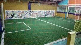 Instalaciones para canchita de fútbol salón infantil
