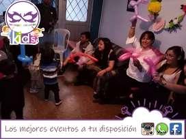 Recreación de fiestas infantiles animacion y diversión para niños jóvenes y adultos pintacaritas show de títeres payasos
