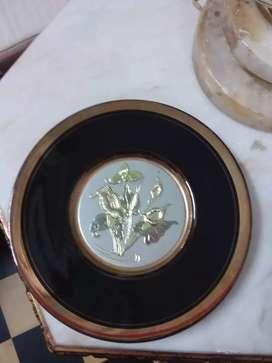 Plato oro y plata japones