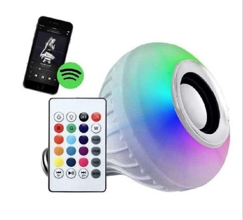 Lampara Foco Led Rgb 220v Parlante Bluetooth - La Plata 0