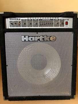 Hartke A100 Amplificador para Bajo Sonido A++