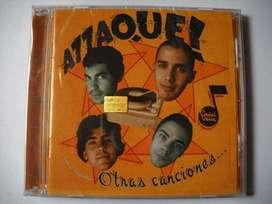 attaque 77 otras canciones cd caja acrilica sellado