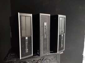 vendo computadores corei 5 de 3 generacion hp y dell
