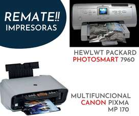 Remate Impresoras