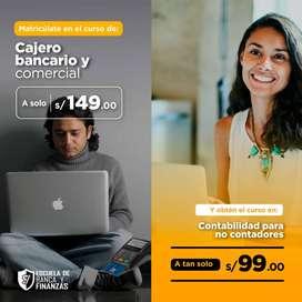 CAJERO BANCARIO Y COMERCIAL+CONTABILIDAD PARA NO CONTADORES
