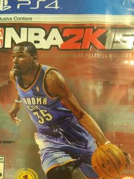 Juego Ps4 NBA2K15