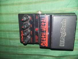 Pedal de distorsion Death Metal