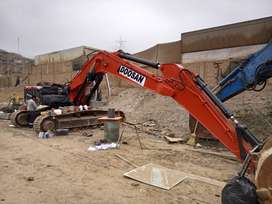 Vendo Excavadora Daewo-Doosan año 2000