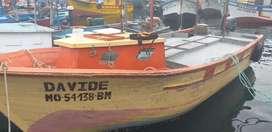 Se vende embarcación, motor Yamaha 50