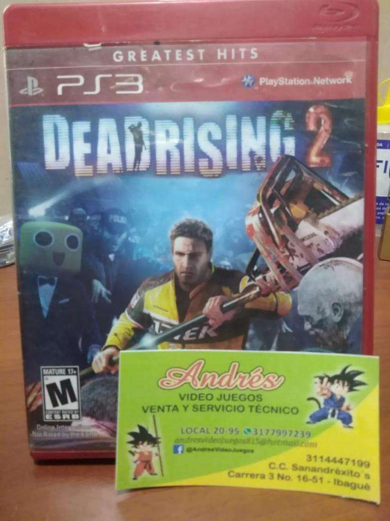 DeadRising 2 Ps3 0