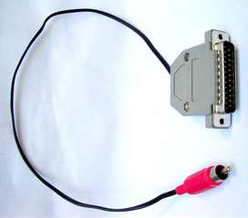 Cable Db25 Paralelo Macho/rca Macho 0,50mts. Nuevos
