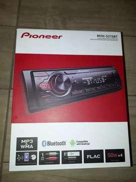 Estereo Pioneer con bluetooth nuevo en caja