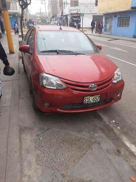 Toyota Etios 2017 Mecanico  $8999