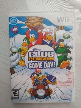 Juego club penguin para Wii