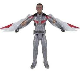 Falcon con alas marvel super heroes