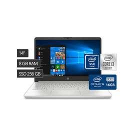 Laptop HP Corei3 10ma Generación