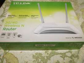 Router Tp-link con Extension a 3g / 4g
