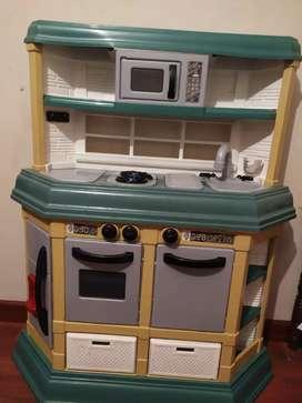 Cocina de juguete grande