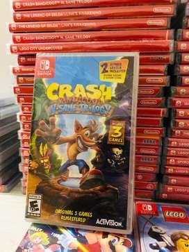 Crash Bandicoot Trilogia Nintendo Switch Fisico NUEVO