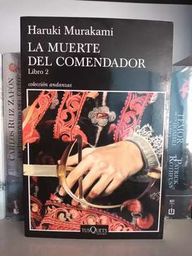La muerte del comendador Libro 2 Haruki Murakami