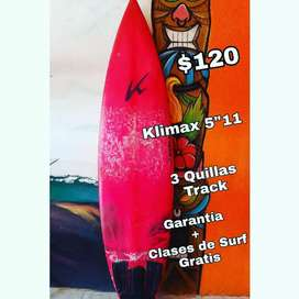 "TABLA DE SURF KLIMAX 5""11"