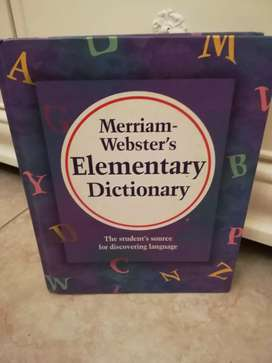 Elemtary Dictionary