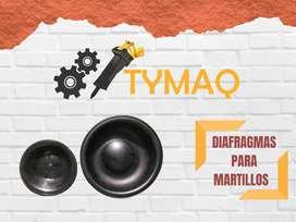 Diafragmas para martillos hidraulicos Daemo