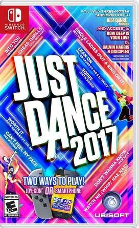Just Dance 2017 Switch (Nuevo Sellado)