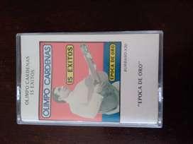 cassette musical antiguo  de Olimpo Cárdenas