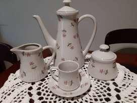 juego de cafe en porcelana