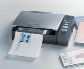 Digitalización de documentos, cuadernos, libros.