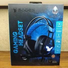 Auriculares gamer sades Xpower plus PS4 PC USB