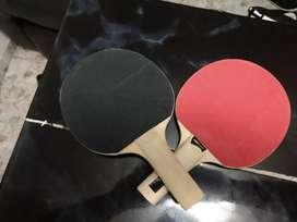 Vendo raquetas  tenis de Meza ping pong