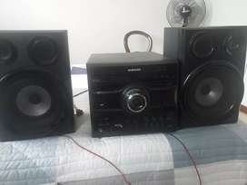 Vendo equipo de sonido SAMSUMG