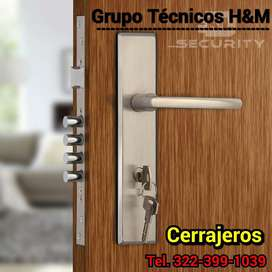 Chapas de Seguridad,Cerrajeros en Madrid Cundinamarca, Cerraduras de Seguridad, Refuerzo de Puertas, Cambio de Guardas