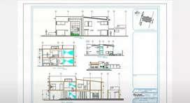 Dibujante cadista Cad planos, 3d y 3d, Render