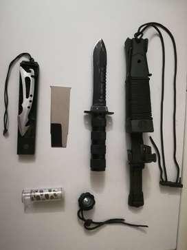 Cuchillo Supervivencia Aitor Jungle King Ii Black