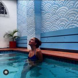 Encantadora casa en Santa Marta con piscina.