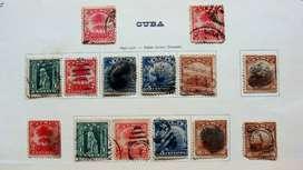 Sellos postales de Cuba 1899 – 1917