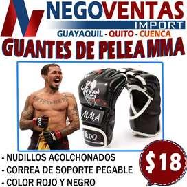 GUANTES DE PELEA MMA EN DESCUENTO EXCLUSIVO DE NEGOVENTAS