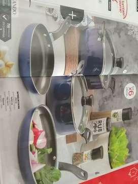 Bateria de cocina x6 piezas
