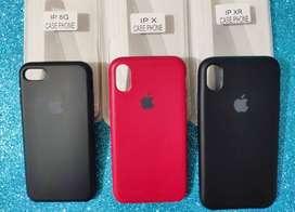 Estuche case de silicona para iphone 8 X y XR
