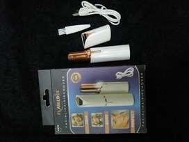 Depiladora facial recargable (USB)