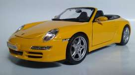 Porche 911 S Cabriolet Auto Escala 1:18 carro de coleccion