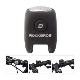 Campana Impermeable Rockbros Bicicleta Pito Electrico Pro