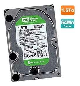 HDD 1.5 TB WD GREEN